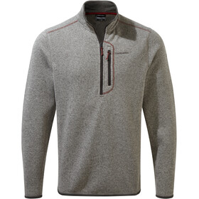 Craghoppers Bronto Sweat À Fermeture Éclair Torse Homme, soft grey marl